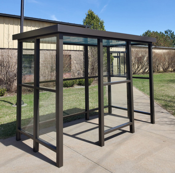 5 x 15 Bus Stop Shelter 2 Opening