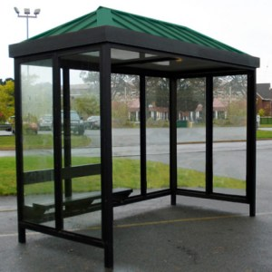 5 x 10 Bus Stop Shelter Hip