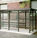 8 x 15 Bus Stop Shelter 1 Opening