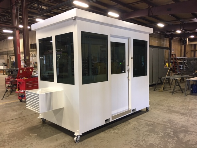 Bullet Resistant Guard Booth-6 x 10