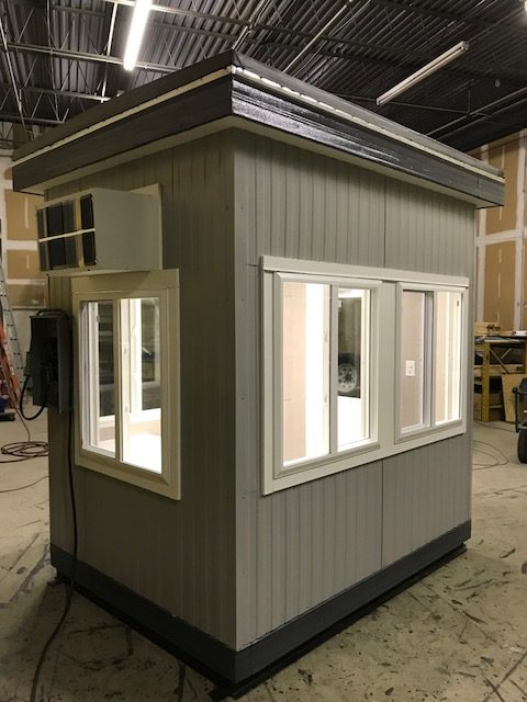6 x 8 Guard House-68GHA-Exterior