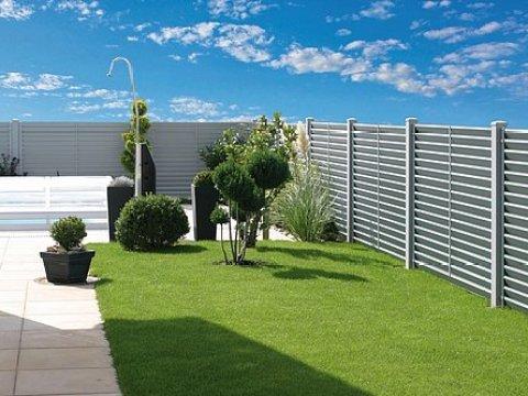 sichtschutz fuer zaun alu sichtschutzzaun für garten, balkon & terrasse - guardi