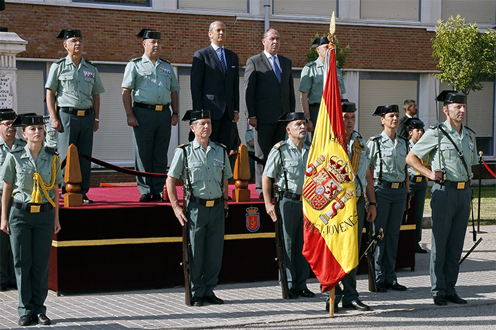El Director General de la Guardia Civil preside el acto de entrega de diplomas a la nueva promoción de Guardias Jóvenes en Valdemoro