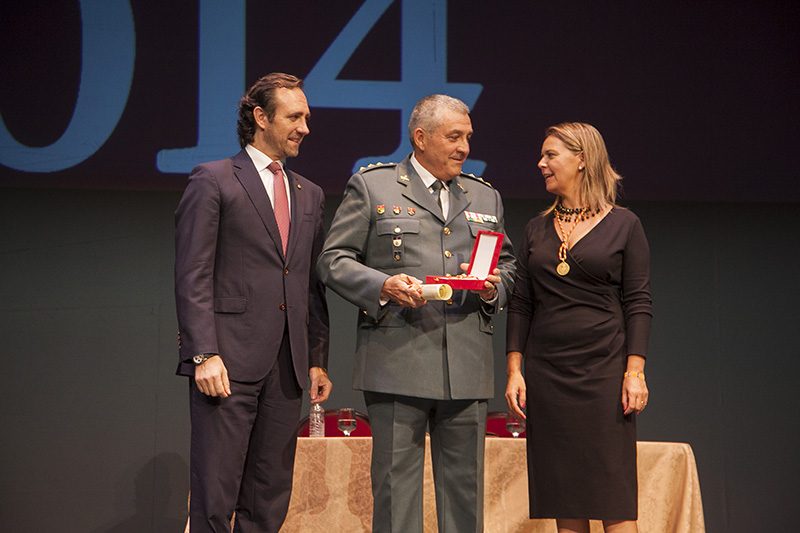 La Guardia Civil de Baleares ha sido galardonada con la Medalla de Honor y Gratitud de la isla de Mallorca