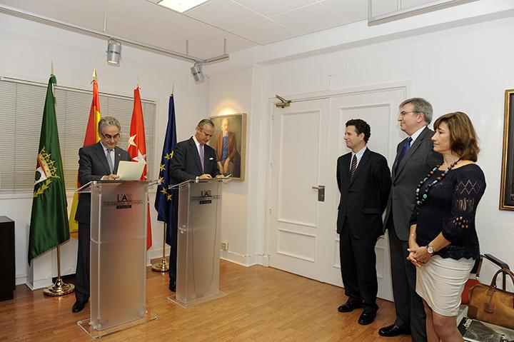 La Guardia Civil y la Universidad Autónoma de Madrid acuerdan cooperar en el desarrollo del Máster en Gobernanza y Derechos Humanos