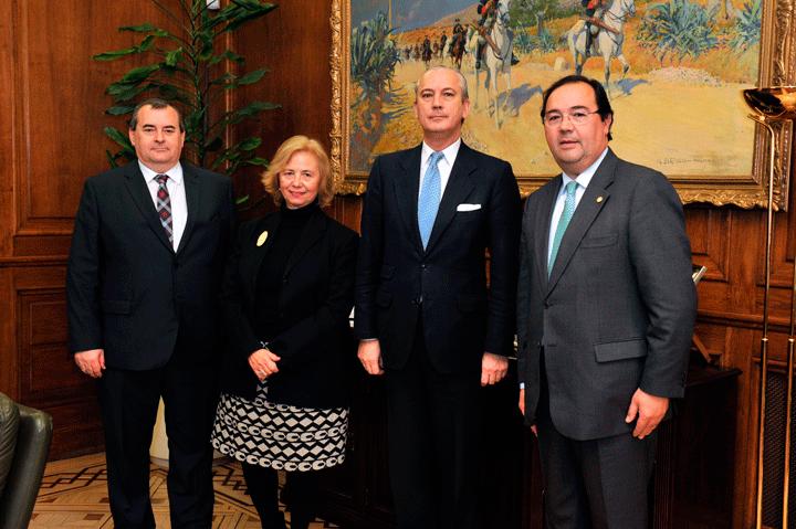 El Director General se reúne con el Rector de la Sociedad de Estudios Internacionales