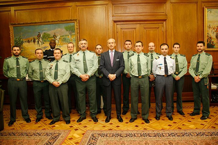 El Director General ha recibido a varios integrantes del XIV Curso de Estado Mayor de las Fuerzas Armadas