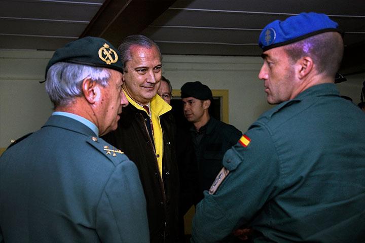 El Director General recibe al contingente de la Guardia Civil que ha finalizado la misión EUFOR en la República Centroafricana