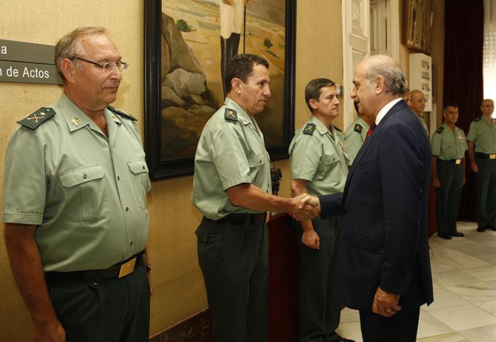 El ministro del Interior, Jorge Fernández Díaz, preside la Reunión del Consejo Superior de la Guardia Civil