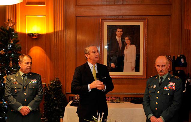 La Guardia Civil celebra una reunión con los Oficiales de Enlace de Cuerpos Policiales y Servicios de Inteligencia Extranjeros (OFEN)