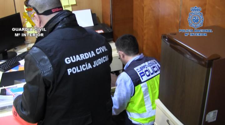 Desmantelada en Murcia una organización dedicada a las macro estafas en el sector del transporte de mercancía