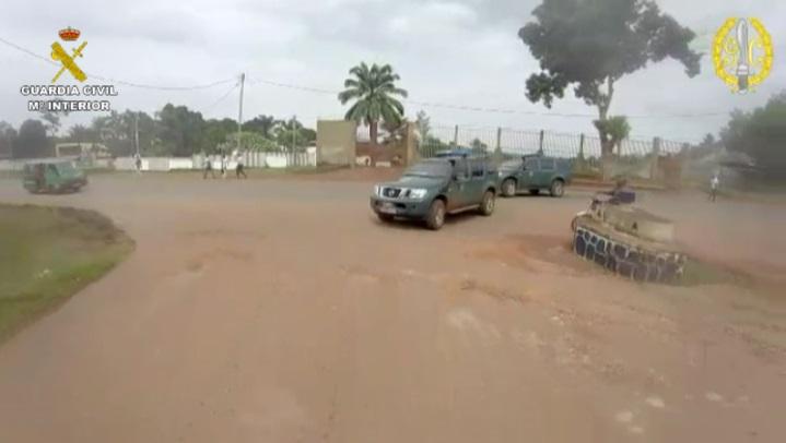 La Guardia Civil refuerza la seguridad ciudadana en la República Centroafricana mediante patrullas de prevención