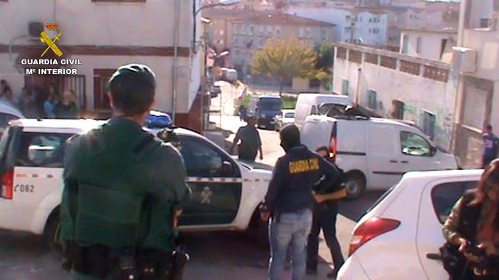 La Guardia Civil desarticula una organización criminal dedicada al blanqueo de capitales procedentes del narcotráfico