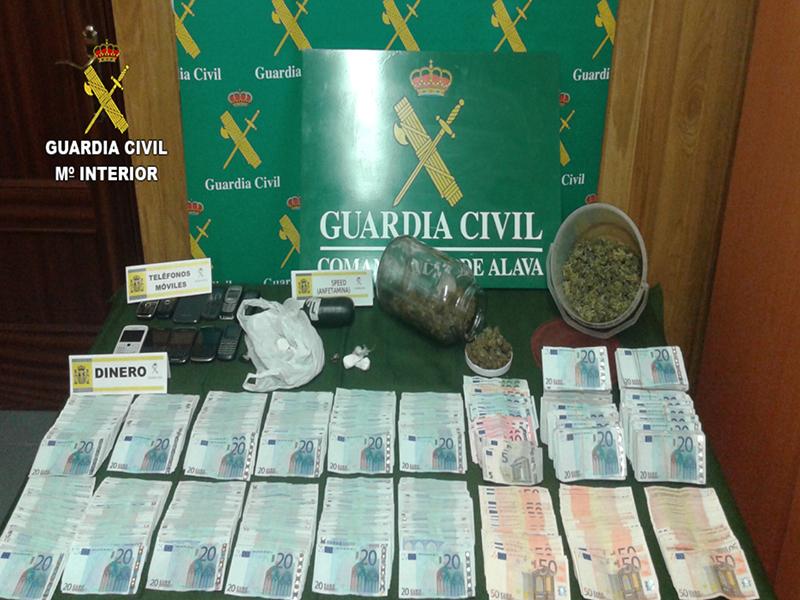 La Guardia Civil detiene a 47 integrantes de una red dedicada a la importación de droga para su comercialización en territorio nacional