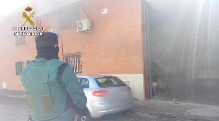 Detenidas cuatro personas por incendiar una nave industrial en la que había una plantación de marihuana