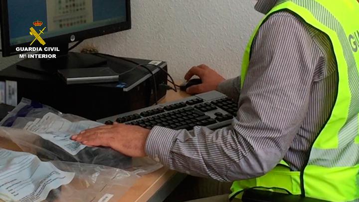 La Guardia Civil detiene a 17 personas e imputa a otras 12 por distribuir imágenes  de contenido pedófilo a través de Internet