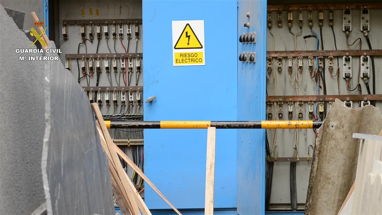La Guardia Civil desmantela una organización dedicada al robo de cable de cobre que ha causado pérdidas económicas cercanas a los 4 millones de euros
