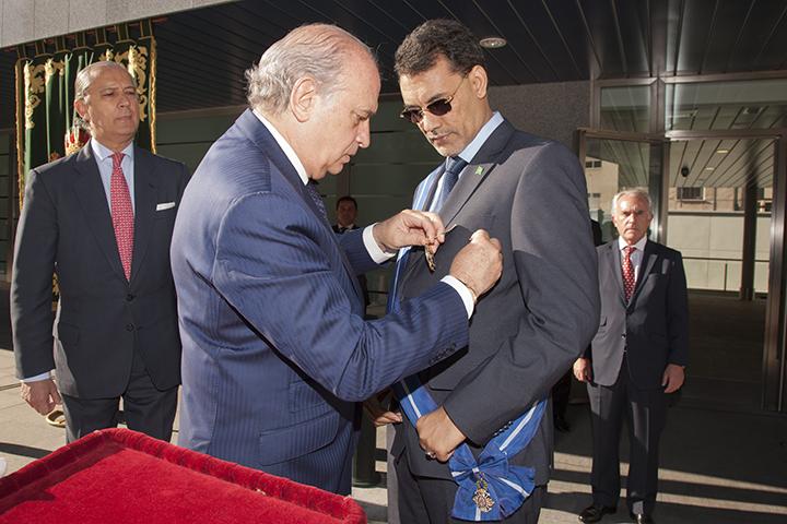 """La """"intensa y vital"""" colaboración entre España y Mauritania se """"eleva a un nivel superior"""" con  la firma de un convenio de lucha contra la criminalidad"""