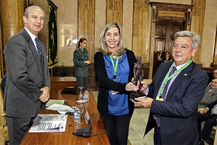 El Director General entrega los premios Duque de Ahumada a la Seguridad Corporativa