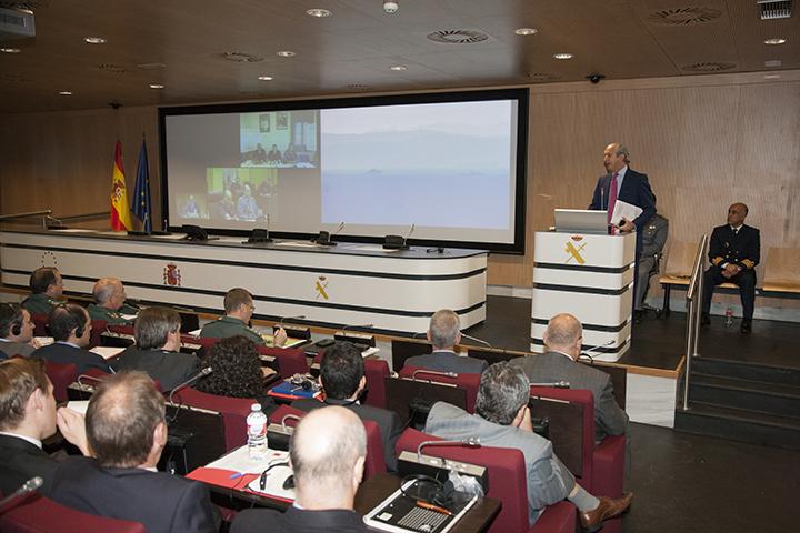 La Guardia Civil acoge a los más de 60 observadores de 20 países que asisten al ejercicio Gate to Africa