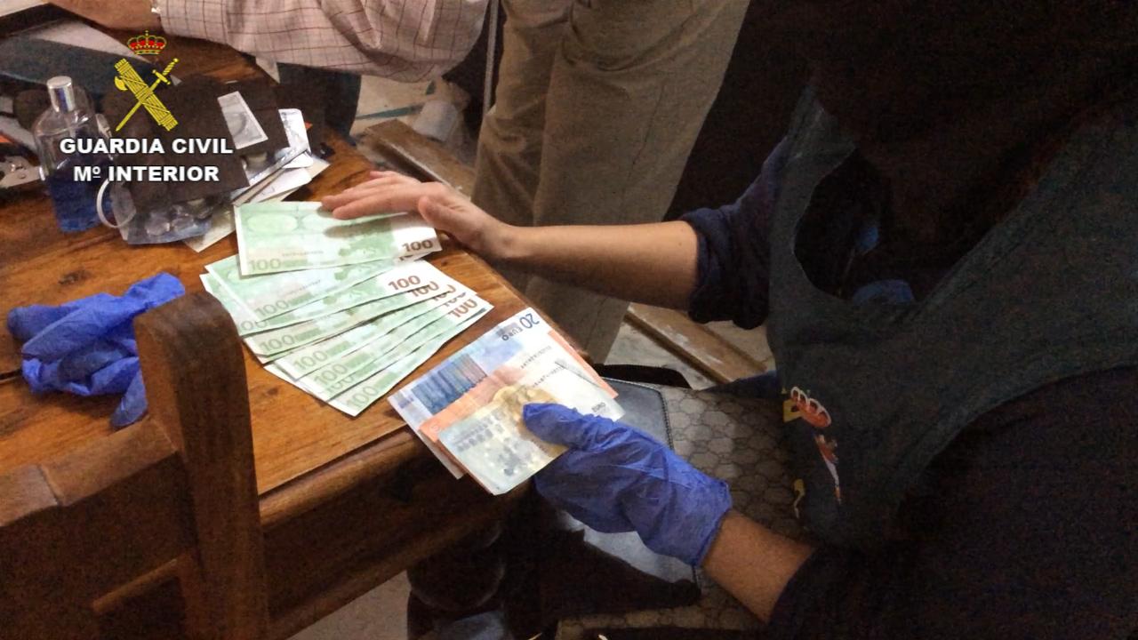 La Guardia Civil desmantela un grupo especializado en asaltos a viviendas y establecimientos regentados por ciudadanos de origen chino