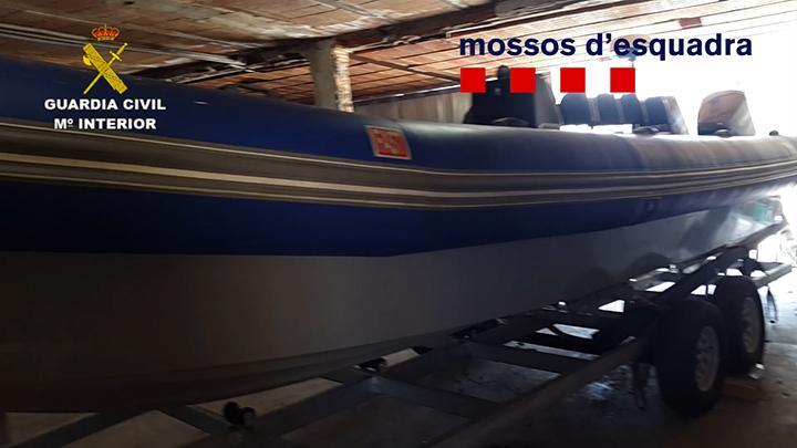 Desarticulada una organización criminal dedicada al narcotráfico asentada en el Río Guadarranque (Cádiz)
