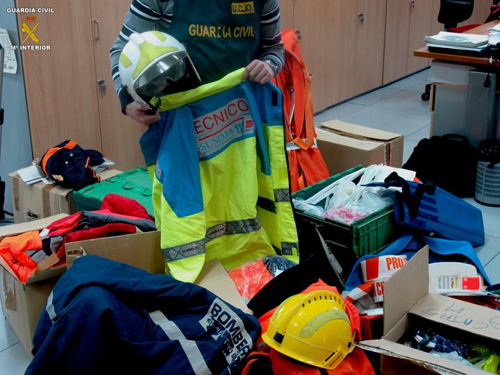 La Guardia Civil detiene a dos personas por impartir cursos de rescate de alto riesgo sin poseer titulación