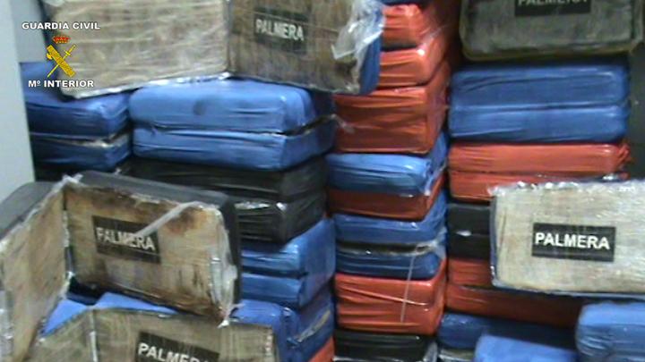 Desmantelada una red dedicada al tráfico de cocaína y blanqueo de capitales en la Comunidad de Madrid
