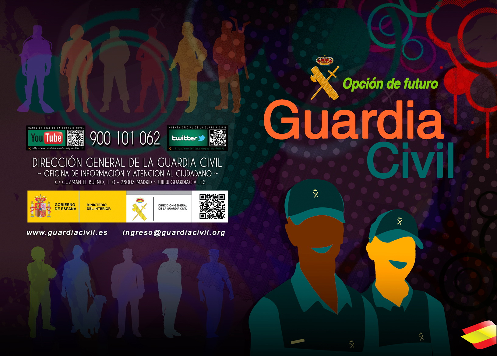 Guardia Civil, opción de futuro 2014