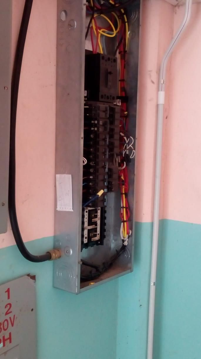 hight resolution of la romaine secondary remains closed due to exposed wires