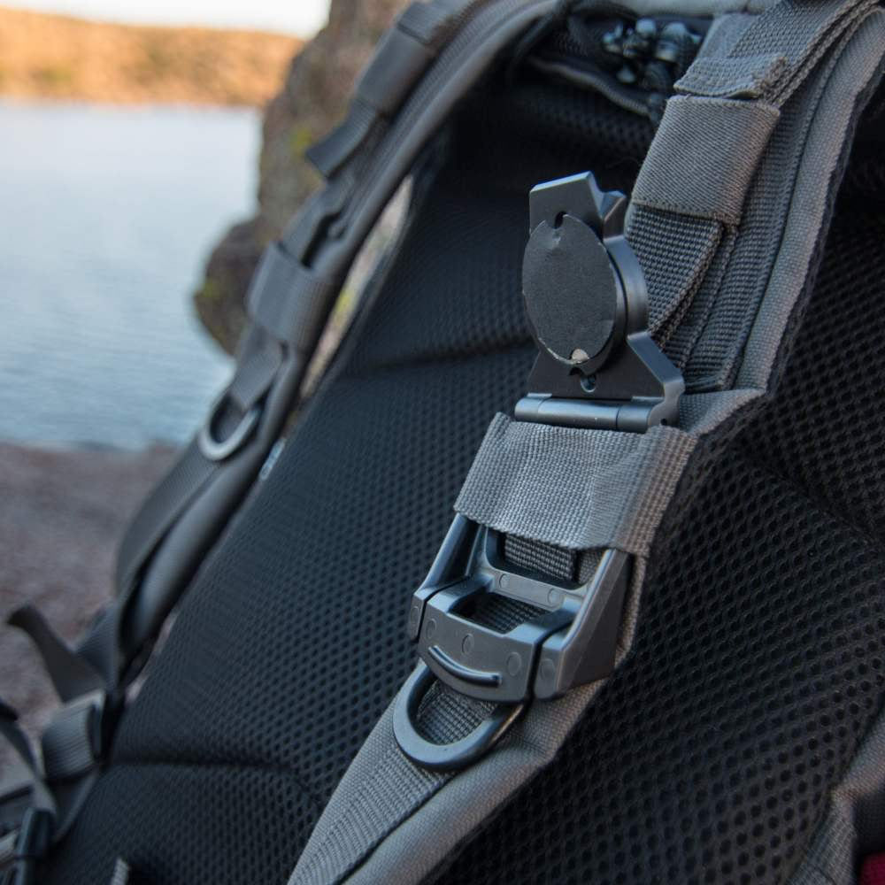 Strap and Epaulet Clip Mount