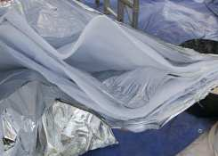 The insulation used when insulating an existing conservatory roof
