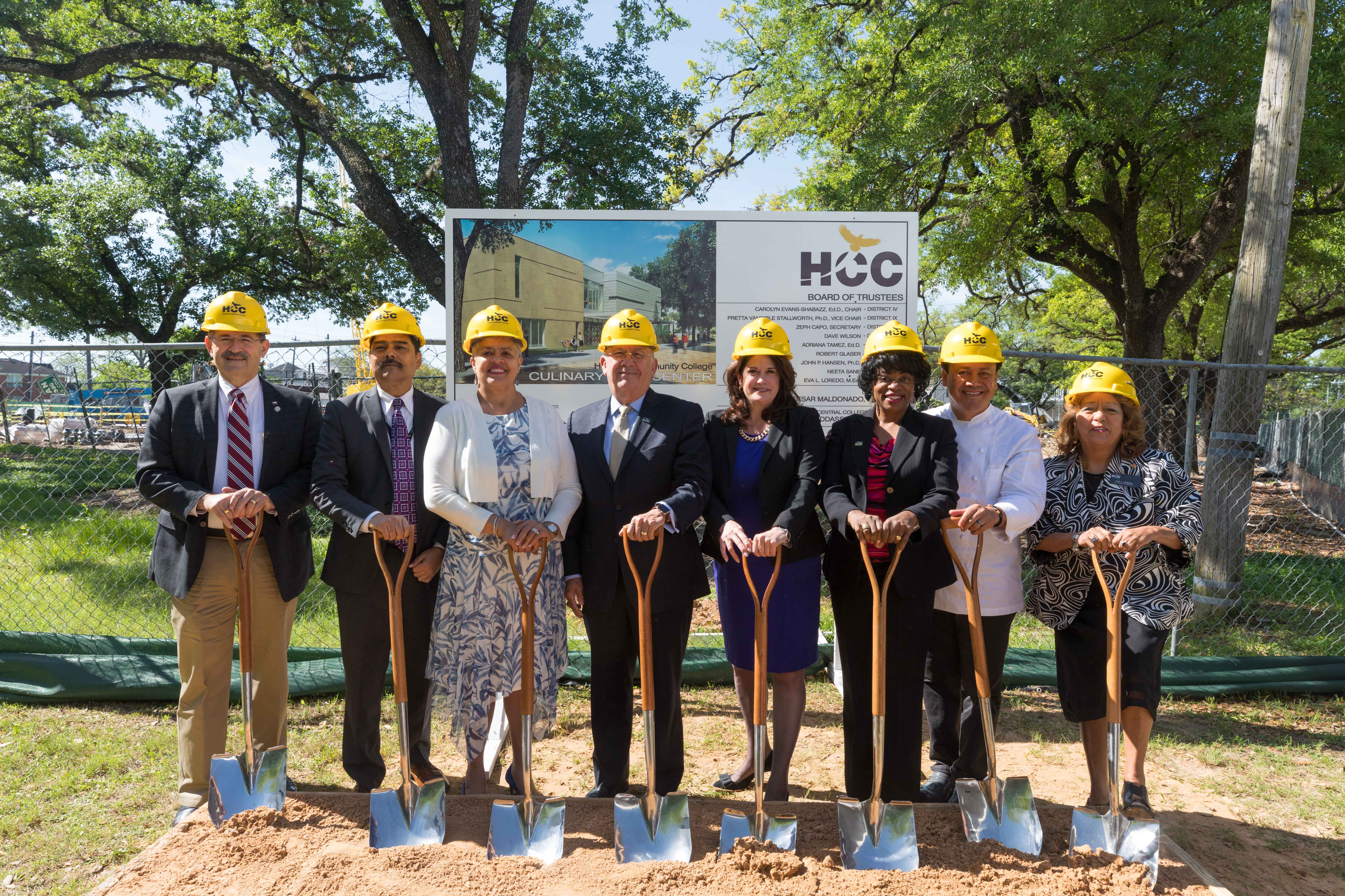 Construction Of Hccs New Culinary Arts Center Kicks Off With Ground