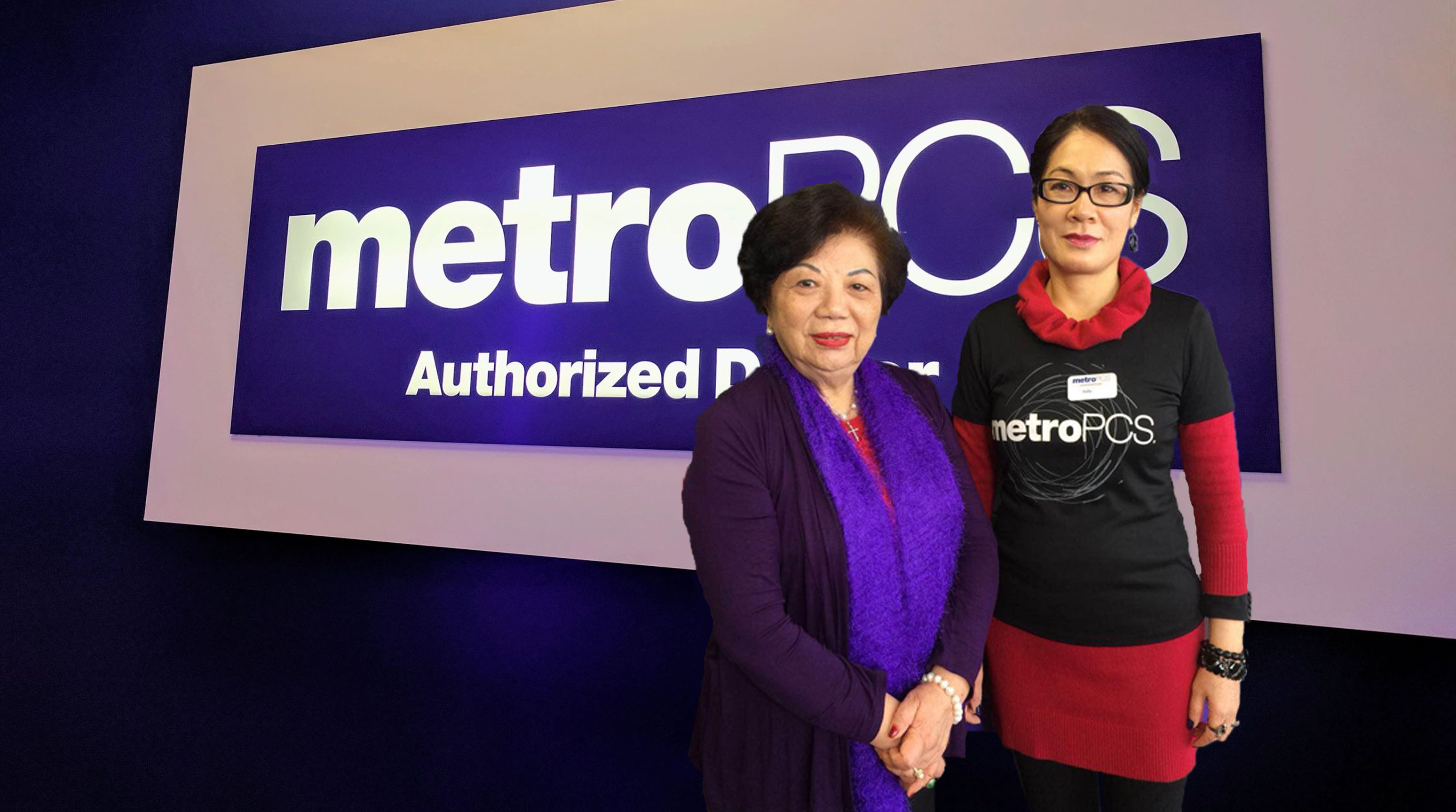 "Judy and Lily will save you money"" – Neighborhood Metro PCS"