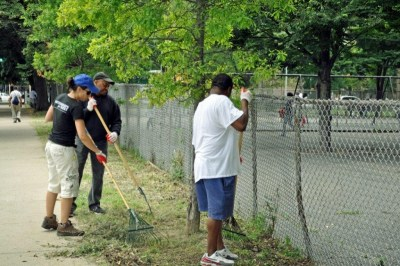 Grand Council - St. Mary's Park Clean Up 4