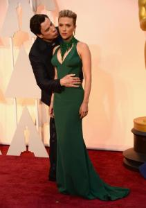 John Travolta Kissing Scarlett Johanssen