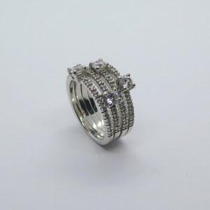 Anello fascia in argento 925