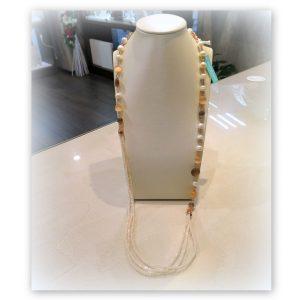 Collana pietre dure e perle Sovrani Bijoux