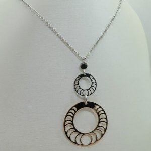 Collana Fraboso argento bicolore