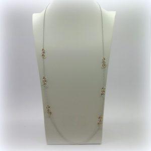 Collana lunga Fraboso Argento 925
