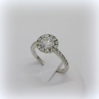 Anello artigianale argento 925 contorno