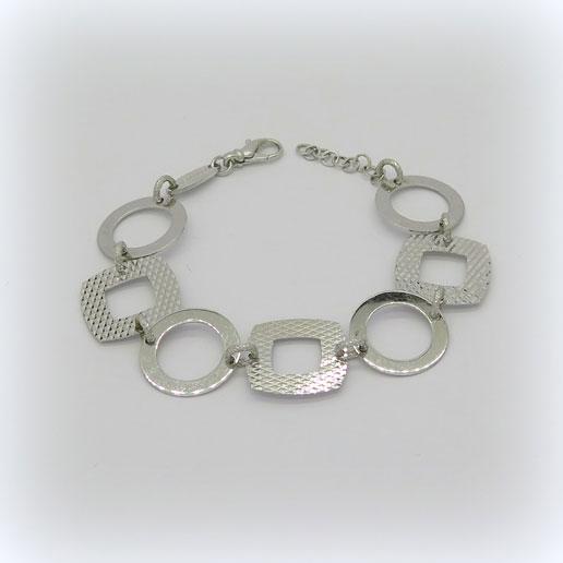 Bracciale Fraboso argento rodio