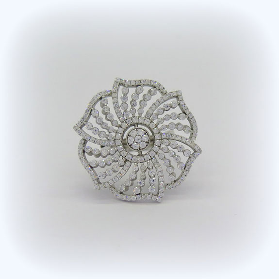Anello fantasia in argento 925