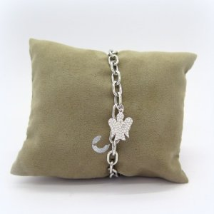 Bracciale donna angelo in argento 925 Giannotti