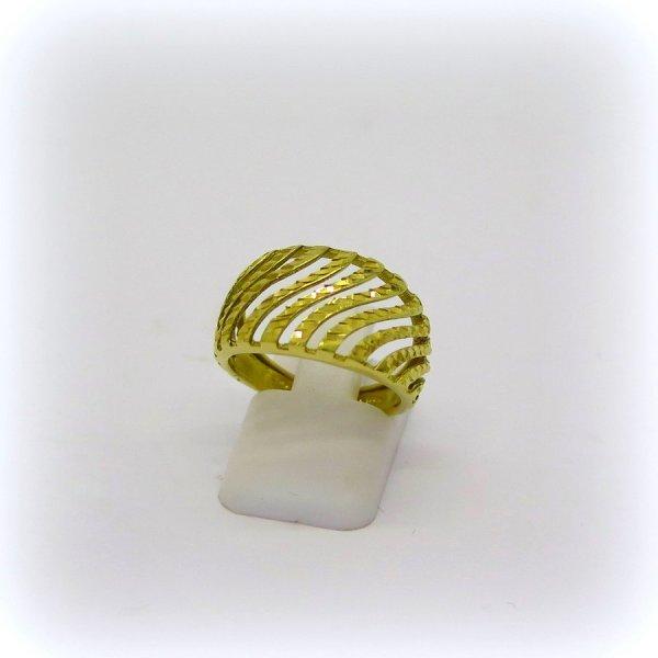 Anello fascia oro giallo 18 ct