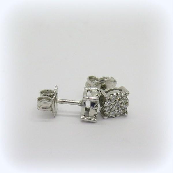 Orecchini punto luce in argento 925
