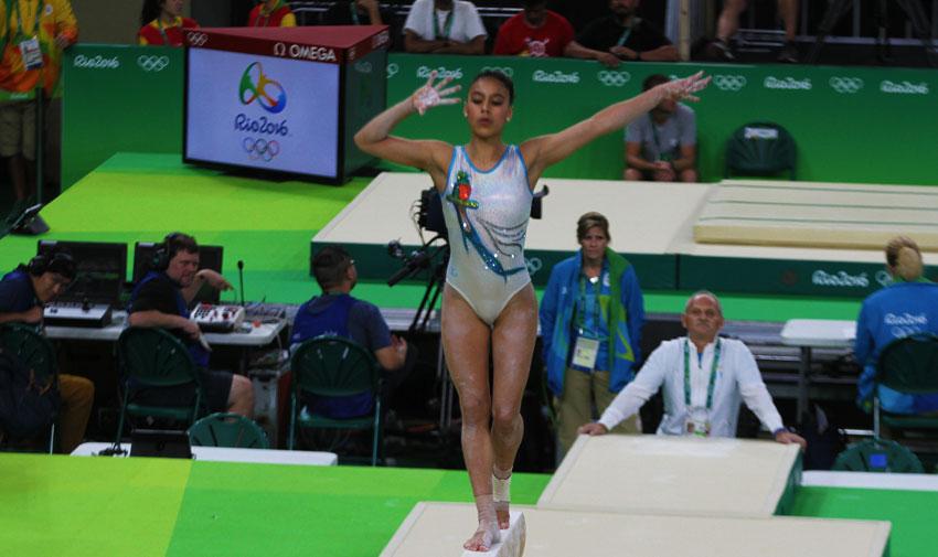 La carrera de Ana Sofa Gmez gimnasta guatemalteca