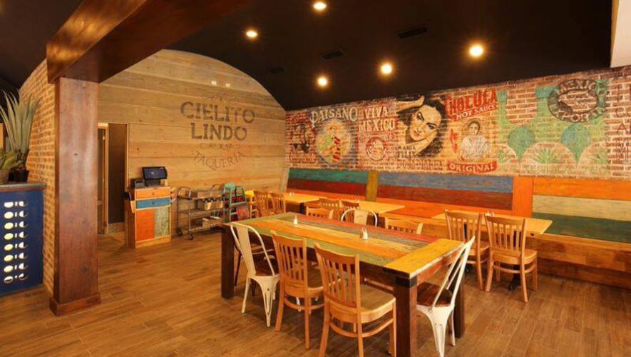 Cielito Lindo restaurante de comida mexicana  Lugares importantes de la zona 14 de la Ciudad de Guatemala