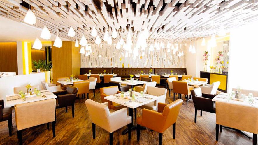 Hibiscus Restaurante espacios amplios con vista  Restaurantes lujosos en la Ciudad de Guatemala