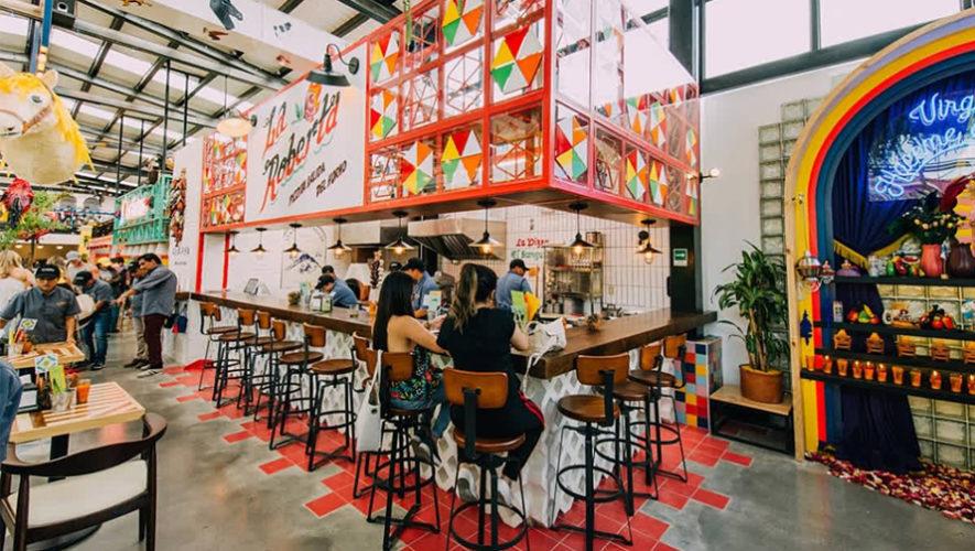 La Esquina Antigua  Restaurantes con murales en Guatemala